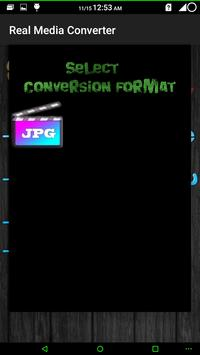 Real Media Converter apk screenshot