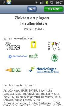 Ziekten in suikerbieten poster