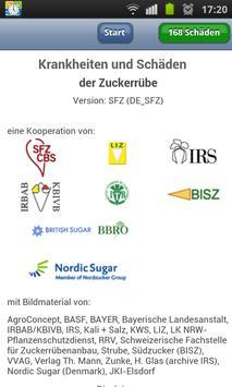 Krankheiten an Zuckerrüben SFZ poster