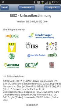 BISZ-Unkrautbestimmung poster