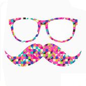 Hipster Zipper Lock icon