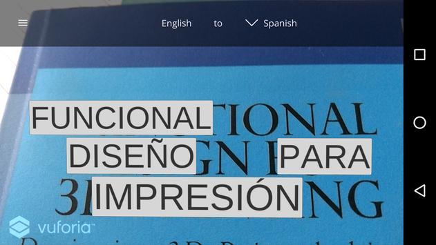 TranslatAR apk screenshot