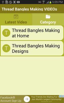 Thread Bangles Making VIDEOs apk screenshot