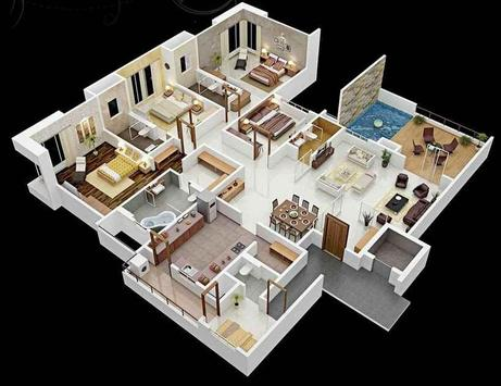 3d Modular Home Floor Plan Apk Download Free Lifestyle App For Android
