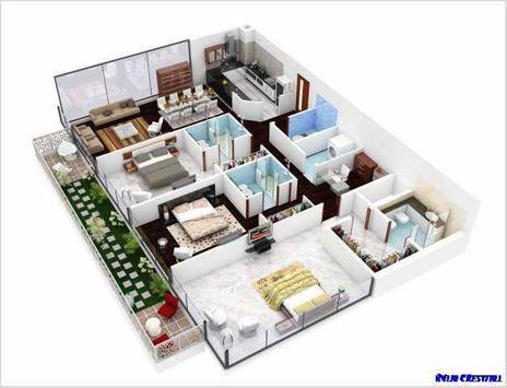 Hauspläne 3d  3D-Haus-Pläne Inspiration APK-Download - Kostenlos Lifestyle APP für ...