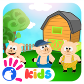 Three Little Pigs Puzzle Game icon