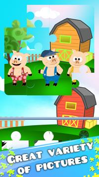 Three Little Pigs Puzzle Game apk screenshot