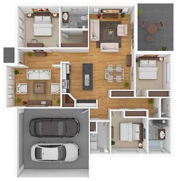 3d home floor plan designs apk screenshot - 3d Home Floor Plan