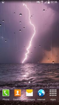 Thunderstorm Live Wallpaper screenshot 4