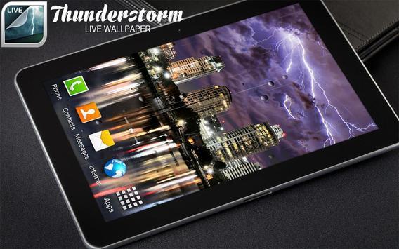 Thunderstorm Live Wallpaper screenshot 8