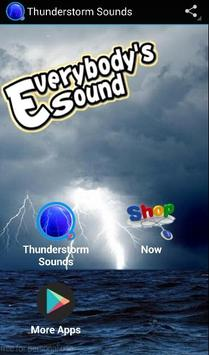 Thunderstorm Sounds poster