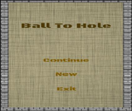 Ball To Hole poster