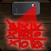 Hologramme Tic Tac Toe Prank icon
