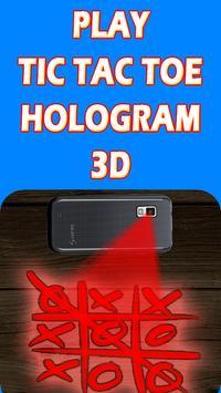 Hologramme Tic Tac Toe Prank screenshot 1