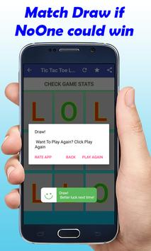 TIC TAC TOE LOL New Game screenshot 1