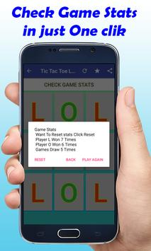 TIC TAC TOE LOL New Game screenshot 2