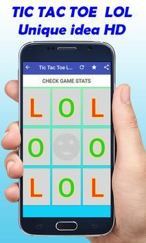 TIC TAC TOE LOL New Game screenshot 4