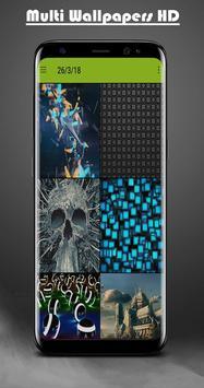 Multi Wallpapers bid HD & Backgrounds screenshot 2