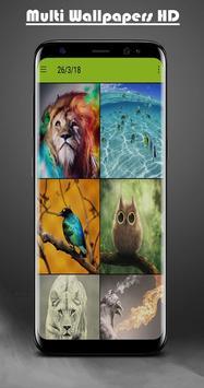 Multi Wallpapers bid HD & Backgrounds screenshot 3