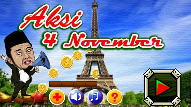 Aksi 4 November Games apk screenshot
