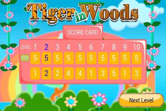 Tiger In Woods capture d'écran 3