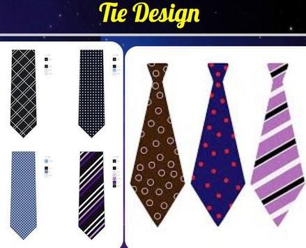 Tie Design poster
