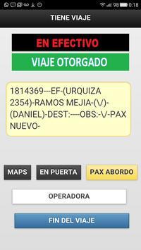Choferes Radiotaxi Tiempo screenshot 5