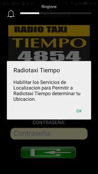 Choferes Radiotaxi Tiempo screenshot 1