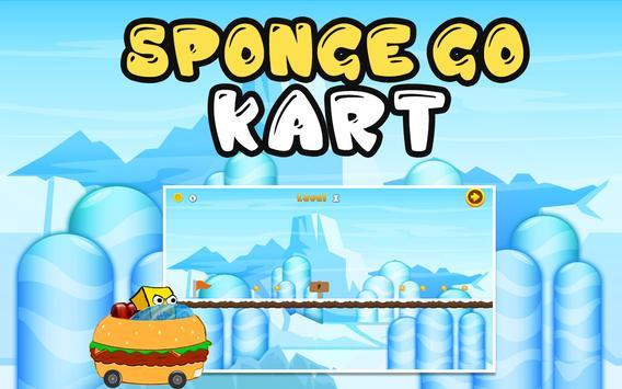 Sponge Go Kart apk screenshot