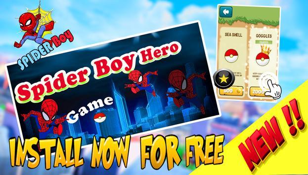Hungry Spider boy 🐜 screenshot 3