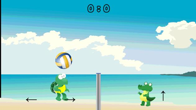 Crocodiles and Volleyball apk screenshot