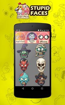 Emoji camera stickers screenshot 2