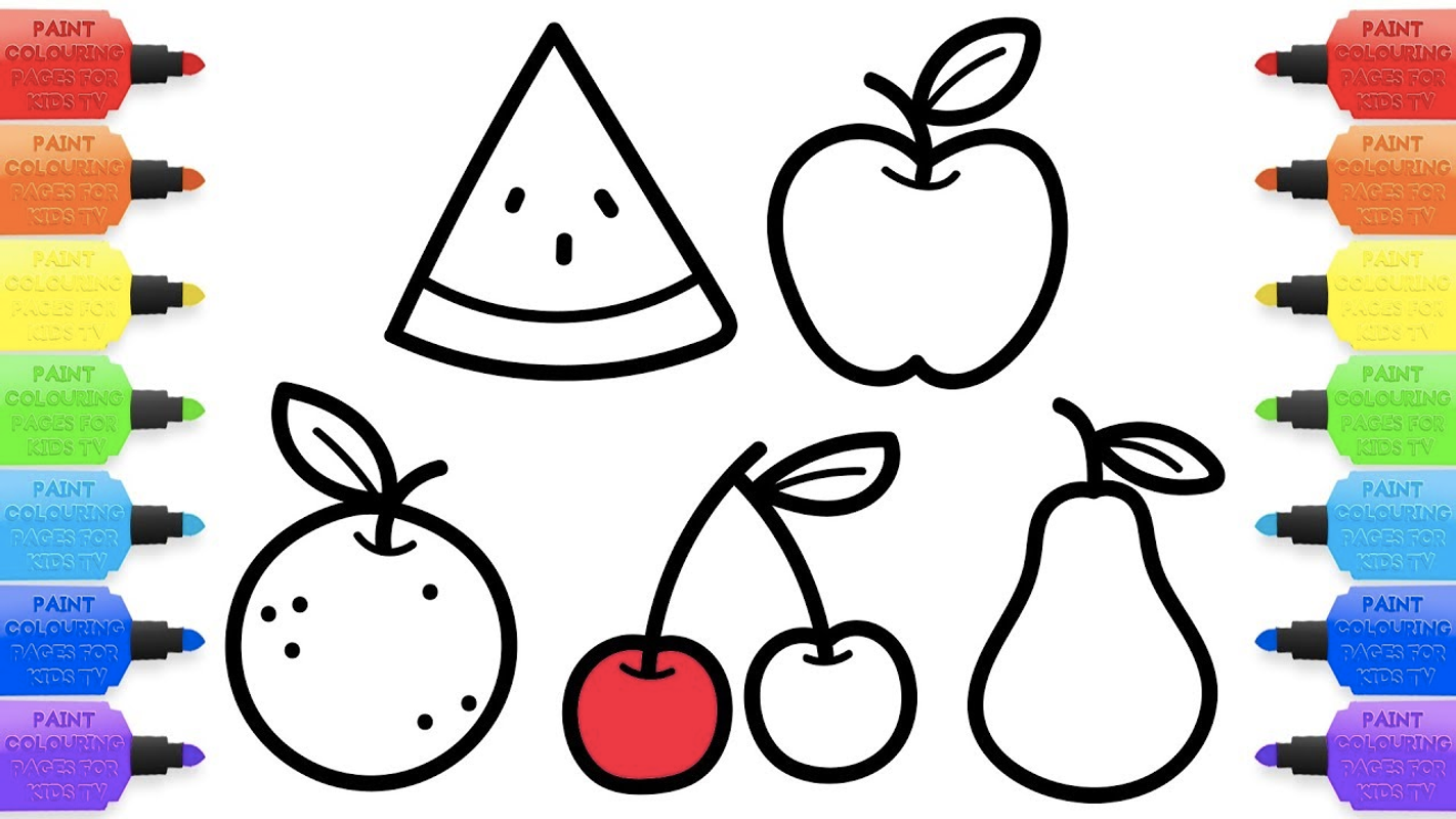 Fruits Coloring Book & Drawing Book for Android - APK Download