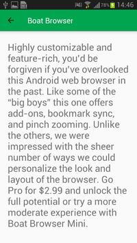 Best Browsers 2018 apk screenshot