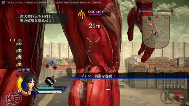 Tips Attack On Titan apk screenshot