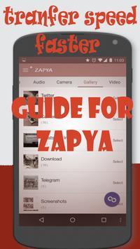 2017 Free Zapya Guide apk screenshot