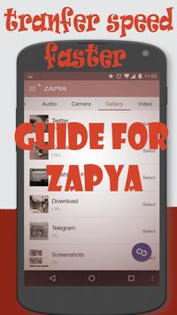 2017 Free Zapya Guide poster