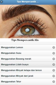 Beautify Tips Eyebrow poster
