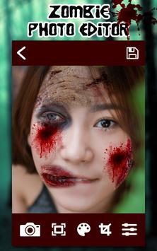 Selfie Zombie Photo Editor screenshot 4