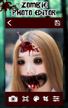 Selfie Zombie Photo Editor screenshot 1
