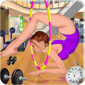 Gymnastic Girl First Aid icon