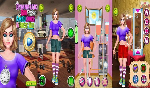 Gymnastic Girl First Aid screenshot 7