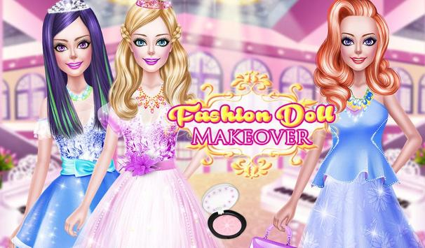 Fashion Doll Makeover apk screenshot
