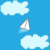 PaperPlane 2D icon