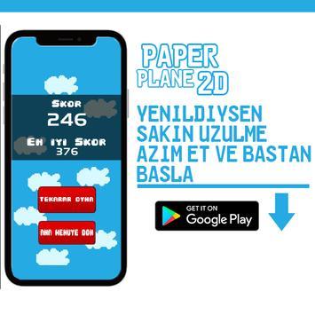 PaperPlane 2D screenshot 1