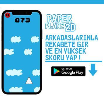 PaperPlane 2D screenshot 2