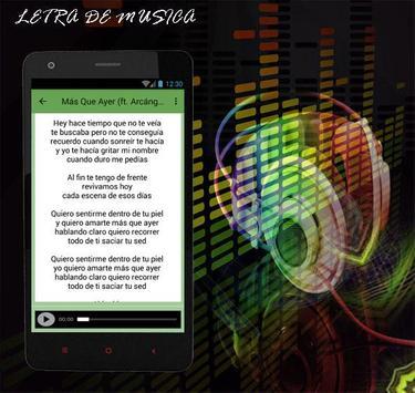 De La Ghetto Más Que Ayer (ft. Arcángel) apk screenshot