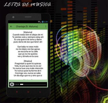 Shakira Me Enamoré Musica 2017 apk screenshot