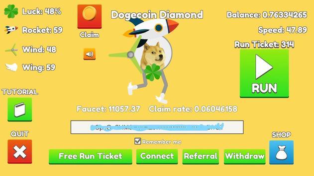 Dogecoin Run poster