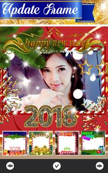 Happy New Year Frames 2018 poster
